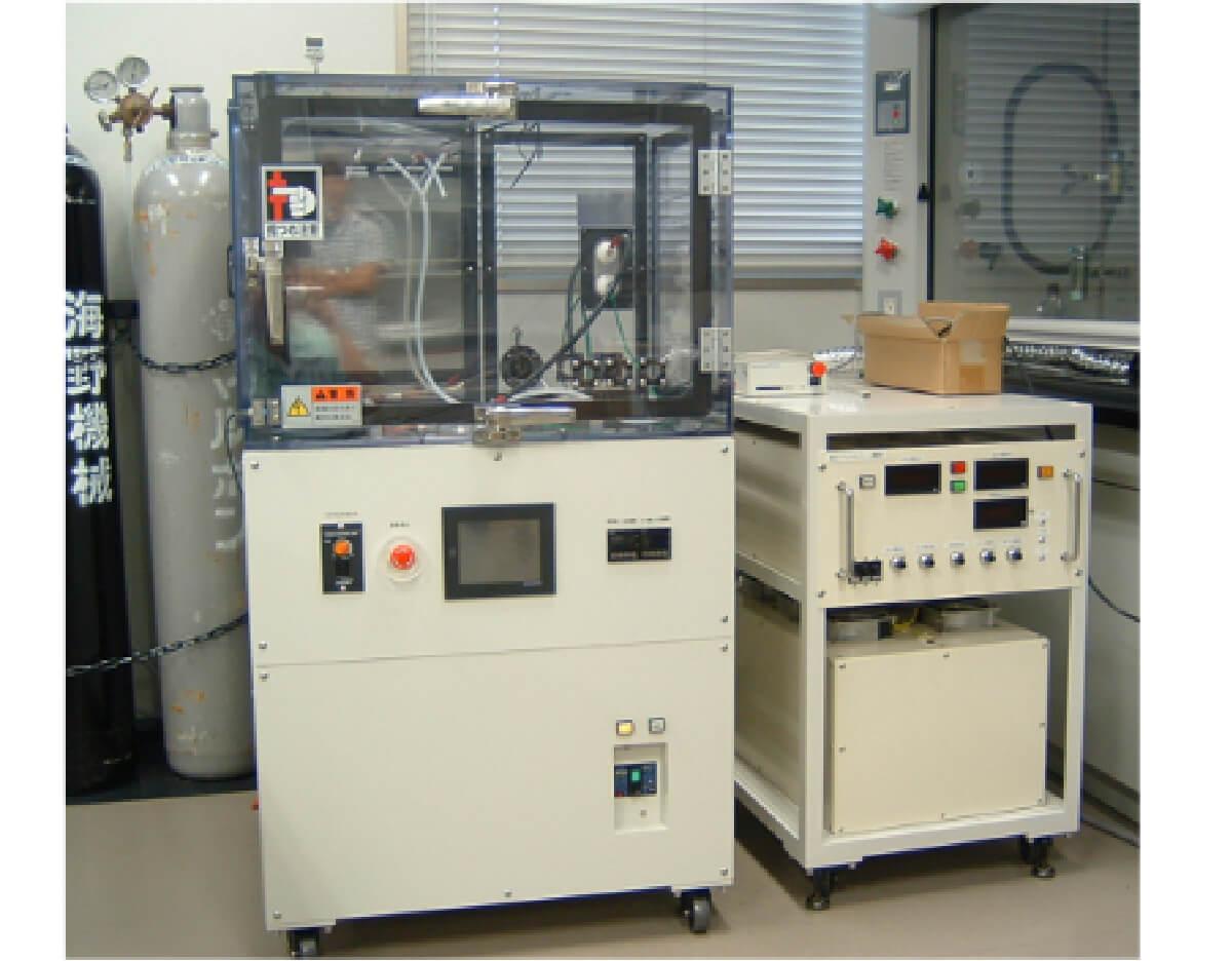 低温グロープラズマ実験装置