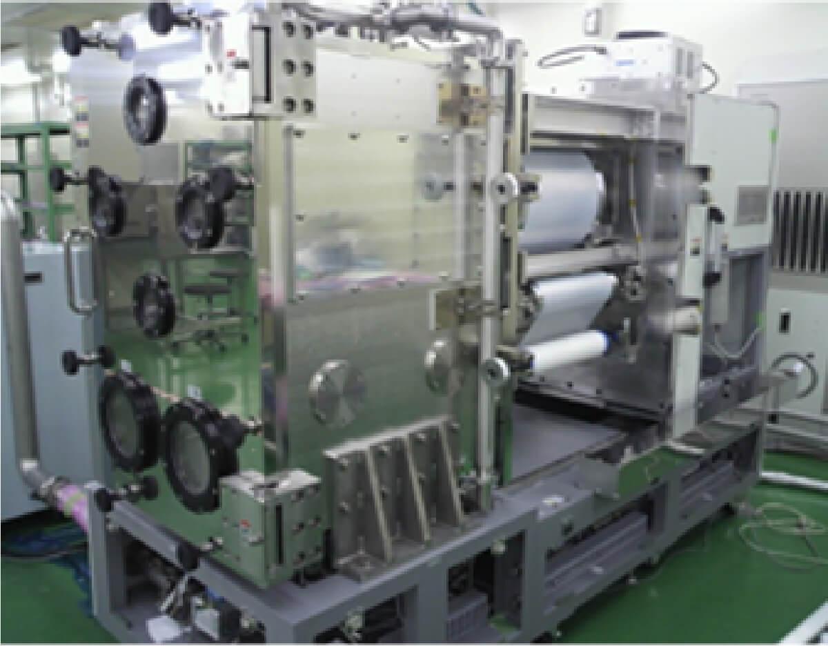 フィルム巾390mm対応R to Rプラズマ処理装置