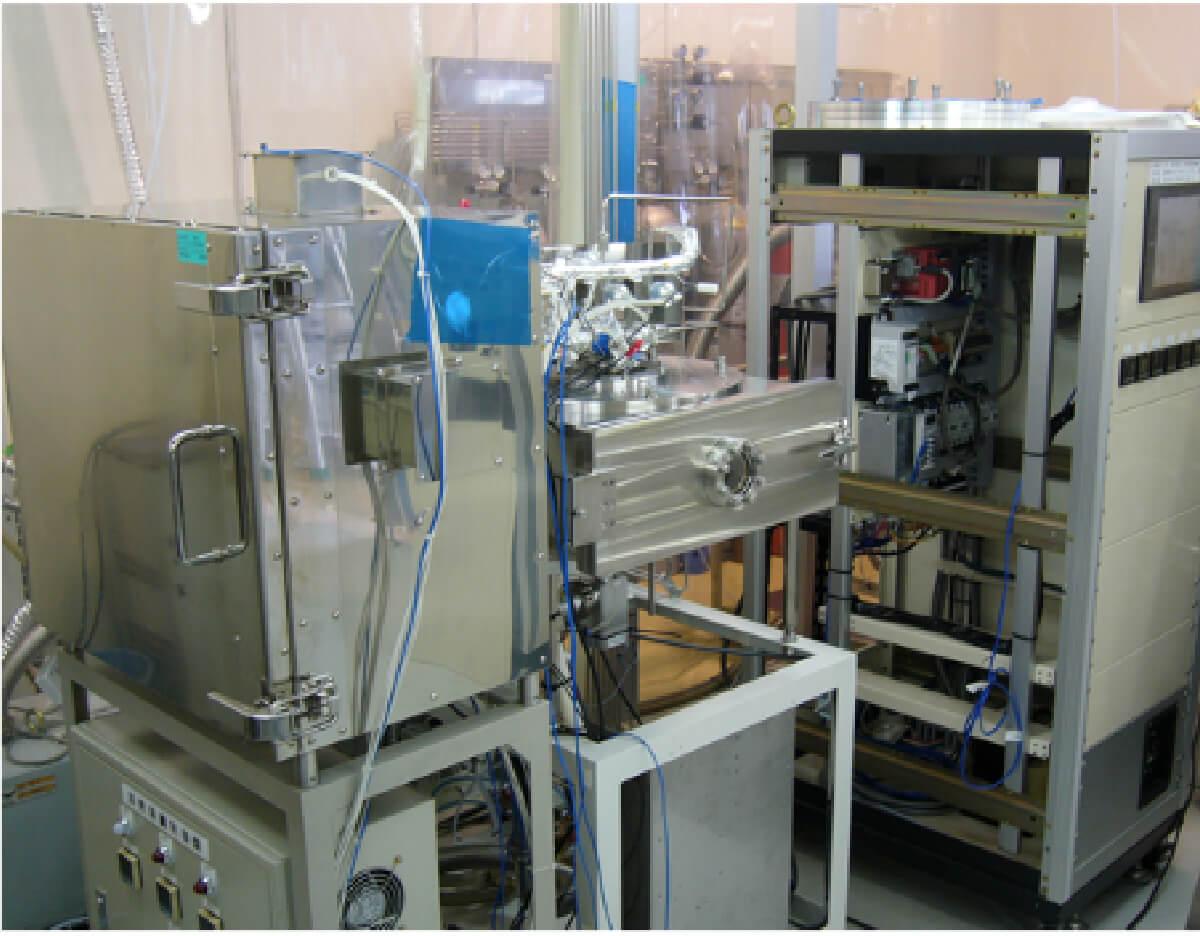 基礎研究開発用φ12インチ対応ALD装置
