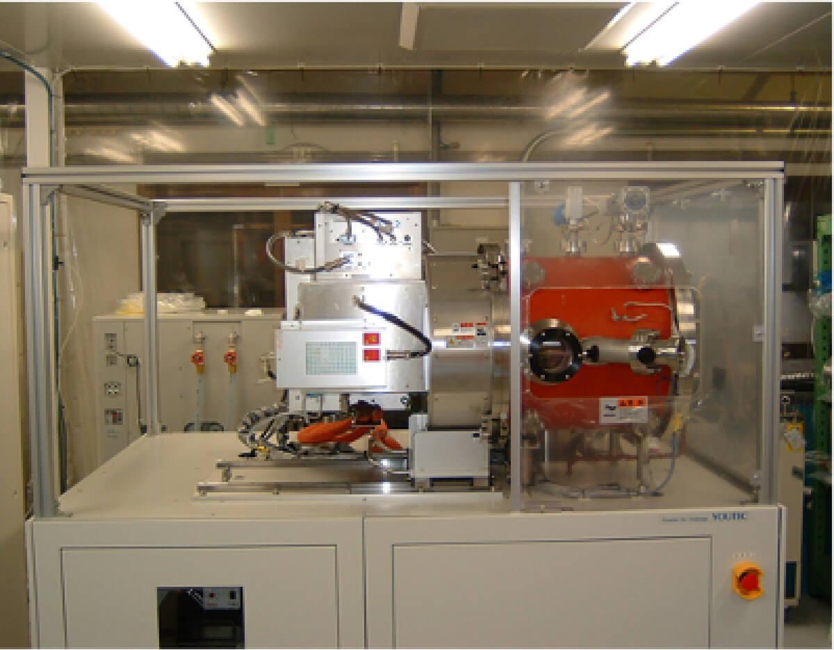金属容器用プラズマCVD装置
