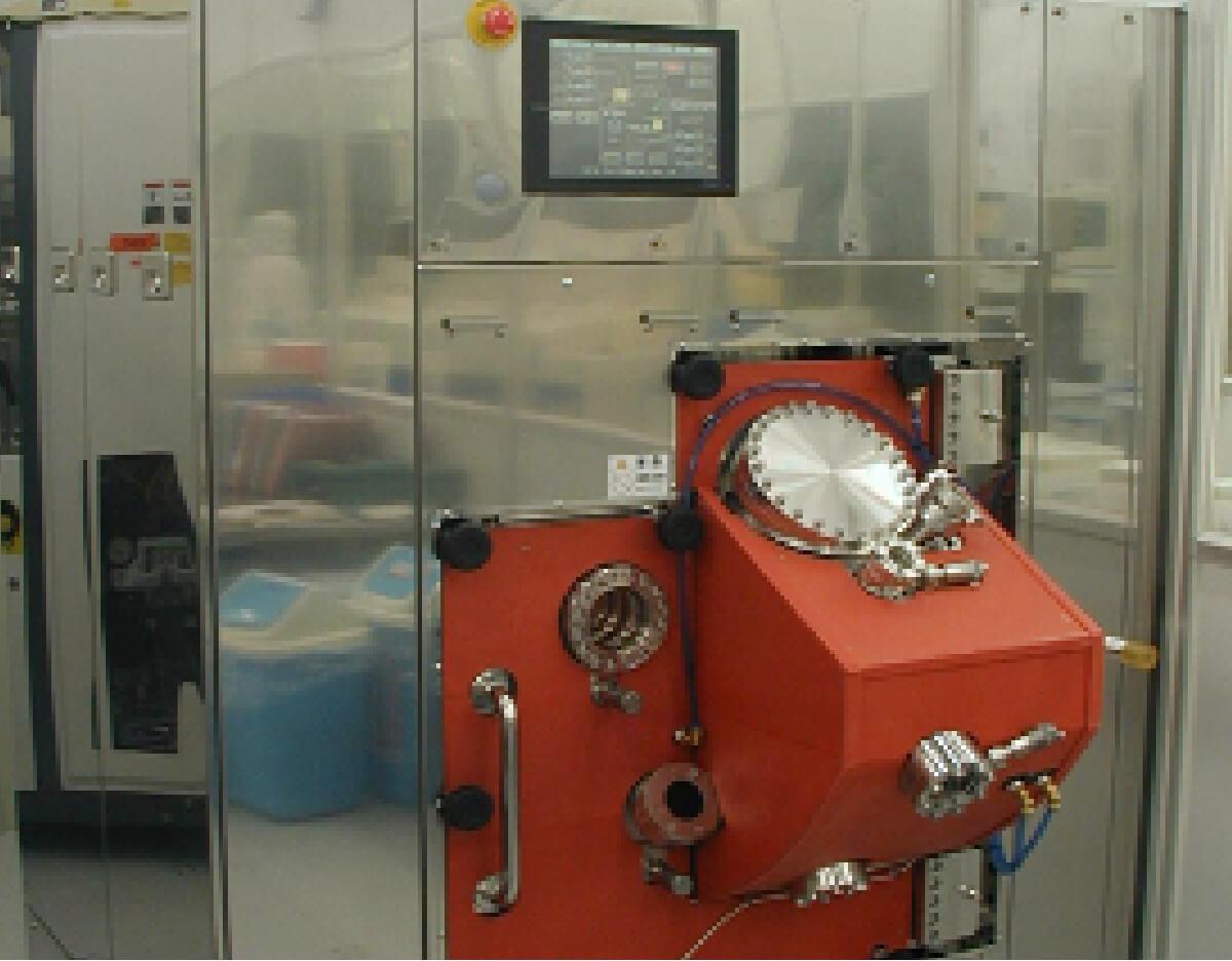 2段階複合Pt成膜装置